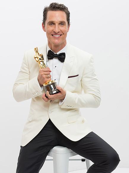 See Matthew McConaughey's Adorable Vintage Prom Photo   Academy Awards, Oscars 2014, Dallas Buyers Club, Matthew McConaughey