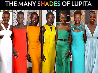 The Stunning Shades of Lupita Nyong'o's First Awards Season | Lupita Nyong'o