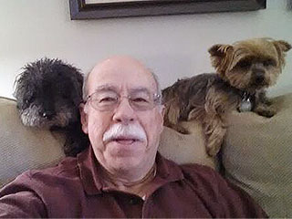 Help This Man and His 2 Dogs Beat Ellen