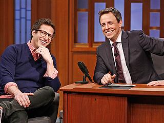 Andy Samberg Reveals David Copperfield's Bizarre Wedding Gift: Watch | Late Night, Andy Samberg, Seth Meyers