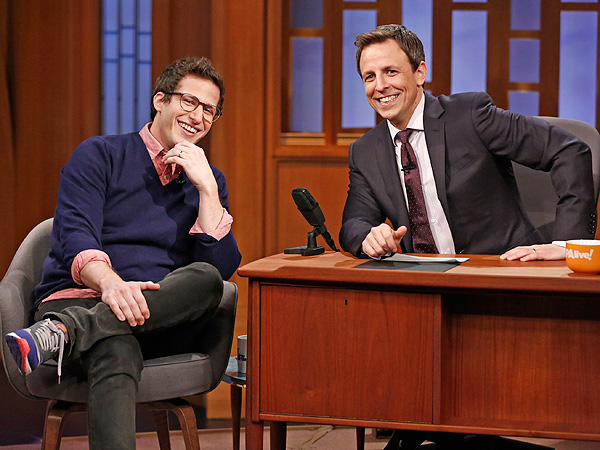 Andy Samberg Reveals David Copperfield's Bizarre Wedding Gift: Watch | Late Night, Andy Samberg, Seth Meyers