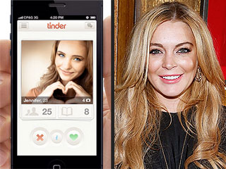 Swipe Right on Celebrities with Tinder's New Verified Profiles | Lindsay Lohan