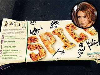 Slice Up Your Life: Victoria Beckham Tweets Forgotten Spice Girls Pizza | Spice Girls, Victoria Beckham