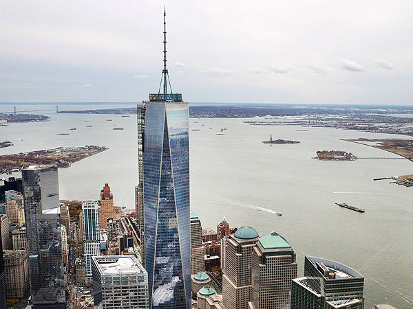 Teen Reaches Top of One World Trade Center Is Arrested After