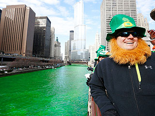 Watch the Chicago River Go Green for St. Patrick's Day | St. Patrick's Day