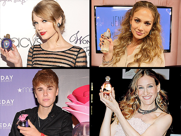 Celebrity Fragrances: A Brief History of Star-Studded Scents | Sarah Jessica Parker, Jennifer Lopez, Justin Bieber, Sarah Jessica Parker, Taylor Swift