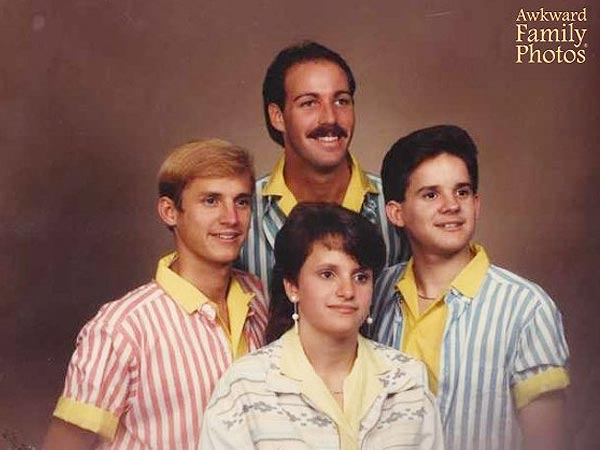 'Awkward Family Photos' Become Art in New Museum Exhibit| Around the Web