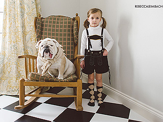 PHOTOS: Let a Girl & Her Bulldog Teach You About Family