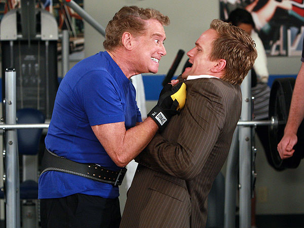Revisit the Stars Who Played Themselves on How I Met Your Mother| How I Met Your Mother, Alan Thicke, Jim Nantz, Nick Swisher, Regis Philbin, Tim Gunn, William Zabka, Actor Class