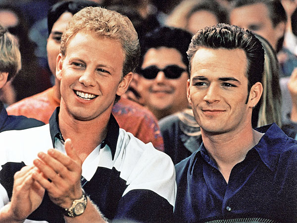 Happy Birthday, Ian Ziering: Beverly Hills, 90210 Alum Turns 50! | Beverly Hills, 90210, Ian Ziering, Luke Perry