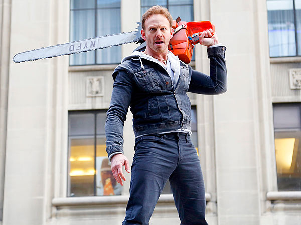 Ian Ziering: I Never Thought Sharknado Would Come Out| SyFy Channel, Sharknado, TV News, Ian Ziering, Tara Reid, Media Products