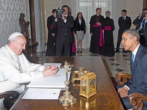 The Pope Met President Obama and Now They Are the Best of Friends| Barack Obama, Pope Francis