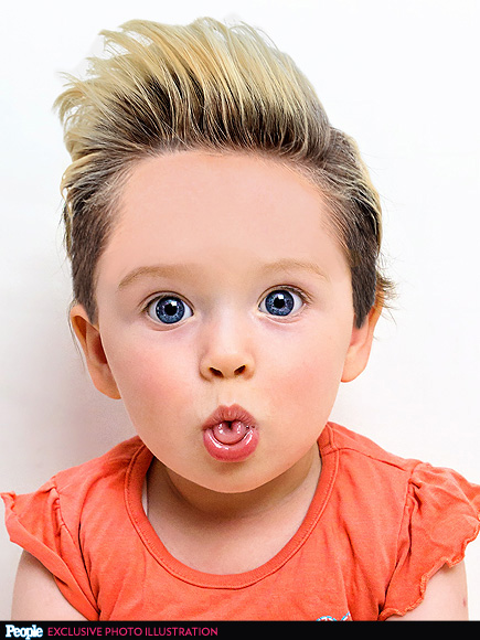 Babies With Famous Celebrity Hairstyles People Com