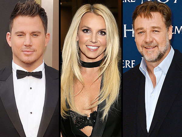 Russell Crowe, Britney Spears and Channing Tatum React to Celebrity Death Hoaxes