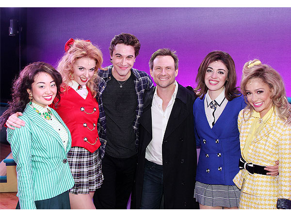 Christian Slater Catches Heathers: The Musical Onstage in N.Y.C.| Heathers, Heathers: The Musical, Christian Slater