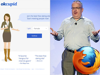 Dating Site OkCupid Blocks Firefox over CEO's Gay Marriage Opposition