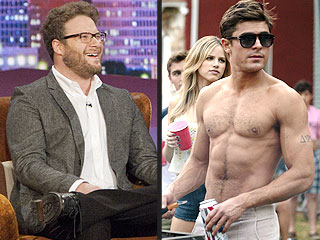 Seth Rogen Explains Why He's Mean to Zac Efron: 'He's So Handsome!' | Conan, Conan O'Brien, Seth Rogen, Zac Efron