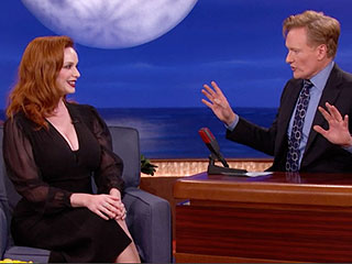 Christina Hendricks Once Caused a Bike Accident with Her Looks (VIDEO)