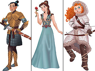 See These Disney Princesses Become the Women of Game of Thrones | Disney Vintage, Disney Channel, Game of Thrones, Game of Thrones, Game of Thrones, Game of Thrones, Walt Disney Company