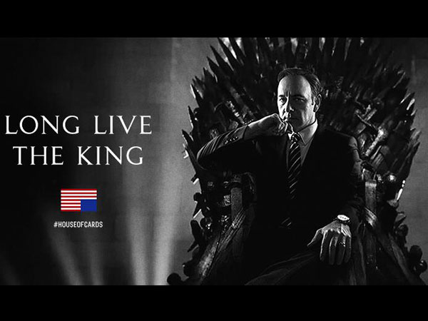 House of Cards Taunts Game of Thrones on Twitter