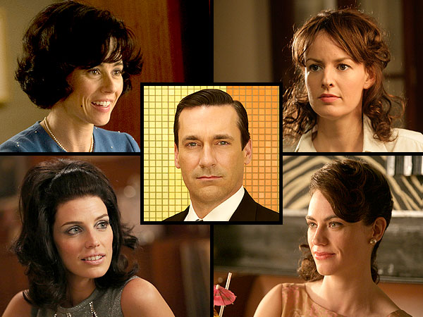 'Mad Men' Premiere: See All the Brunettes Don Draper Has Known and Loved