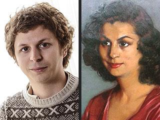 Michael Cera as the Portrait of a Spanish Woman from 1940 | Arrested Development, Alia Shawkat, Michael Cera