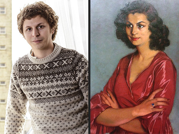 Michael Cera as the Portrait of a Spanish Woman from 1940 | Arrested Development, Alia Shawkat, Michael Cera