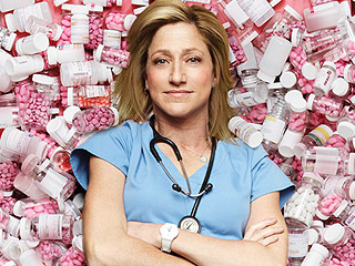 Nurse Jackie and 7 Other TV Drug Addicts We're Addicted To | Nurse Jackie, Edie Falco