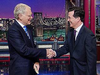 Stephen Colbert, Late Show Regular: Watch 5 Memorable Visits with Dave | Late Show With David Letterman, David Letterman, Stephen Colbert