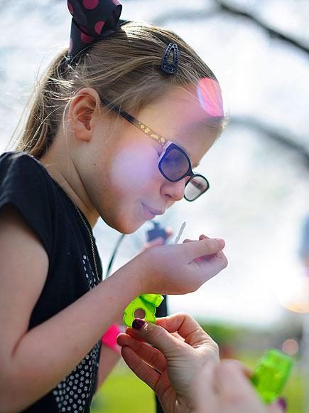 Inside the Dallas Easter Egg Hunt Specially Designed for Visually Impaired Kids| Easter, Real People Stories