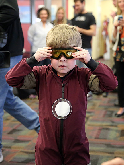Nebraska Boy Flies Like Iron Man, Thanks to Make-A-Wish