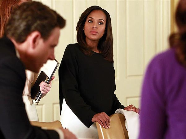 All the Ways Scandal Has Hidden Kerry Washington's Baby Bump | Pregnancy, Scandal, Kerry Washington
