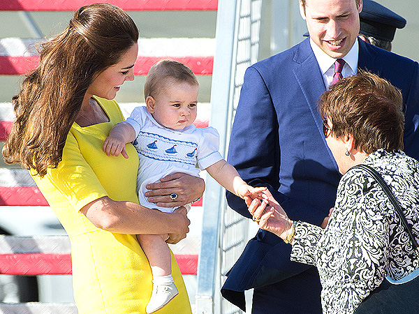 Long GIF the King: See the Funniest GIFs of Prince George's Visit to Australia and New Zealand | Kate Middleton, Prince George, Prince William