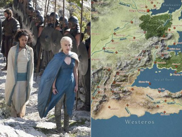 Interactive Game of Thrones Map with Google Maps Treatment