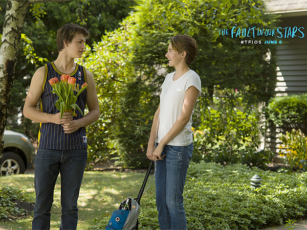 The Fault in Our Stars Confessions: What It's Like to Kiss Your Brother & More from Shailene Woodley  The Fault in Our Stars, Divergent, The Fault in Our Stars, John Green, Josh Boone, Shailene Woodley