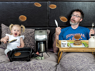 Confessions of the World's Best Father: Dave Engledow Shares the Adorable Details Behind His Viral Photo Project