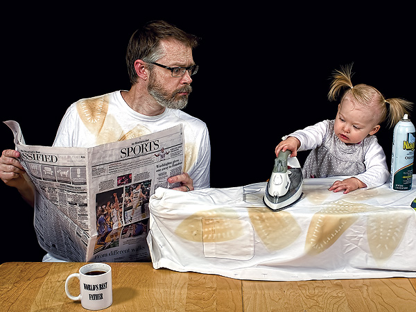 Confessions of the World's Best Father: Dave Engledow Shares the Adorable Details Behind His Viral Photo Project| Babies, Books