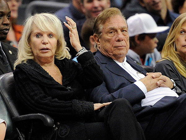 donald sterling wife 600x450 Donald Sterlings Wife Agrees to Sell Clippers to Former Microsoft CEO Steve Ballmer for $2 Billion