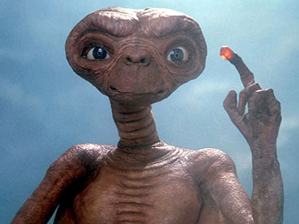 E.T. as a Horror Movie? See the Creepy Original Designs (PHOTOS) | E.T. the Extra-Terrestrial