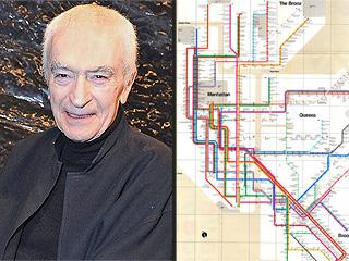 New York City Subway Map Designer Massimo Vignelli Dies at 83