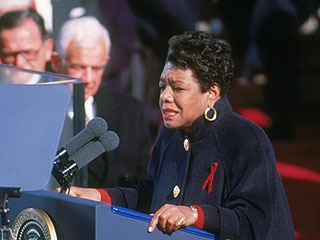Watch Maya Angelou Read 'On the Pulse of Morning' at Bill Clinton's Inauguration