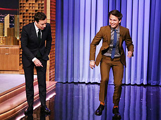 Watch Fault in Our Stars's Ansel Elgort Tap-Dance on Tonight Show (VIDEO) | Jimmy Fallon