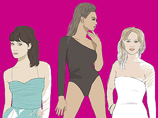 Color Me Girl Crush: Coloring Book Brings Celebrity BFFs to Life | Beyonce Knowles, Jennifer Lawrence, Zooey Deschanel