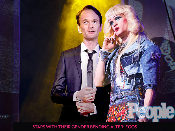 PHOTOS: Neil Patrick Harris and More Stars Posing with Their Gender-Bending Selves| Tony Awards, Dallas Buyers Club, Mrs. Doubtfire, Shakespeare in Love, She's the Man, Yentl, Hedwig and the Angry Inch, Bosom Buddies, Barbra Streisand, Gwyneth Paltrow, Jared Leto, Lady Gaga, Neil Patrick Harris, Robin Williams, Tom Hanks
