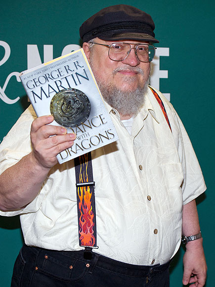 George R.R. Martin; Game of Thrones Author Joins Twitter, Will Kill You