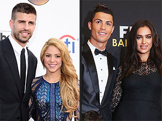 Ready for World Cup? 10 Best Footballers & WAGS to Follow | Cristiano Ronaldo, Gerard Pique, Irina Shayk, Shakira