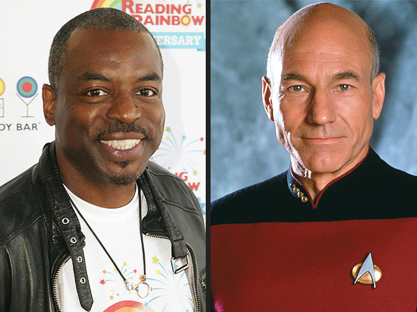 LeVar Burton Beams Up Star Trek Buddies for Reading Rainbow Campaign | LeVar Burton