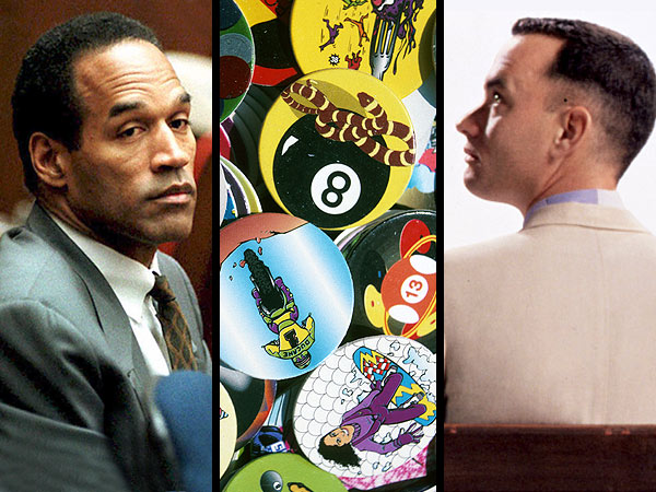 Summer of 1994: 20 Things America Was Obsessing Over 20 Years Ago | OJ Simpson Trial, Forrest Gump