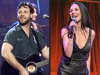 And They Sing, Too: Celebs with Surprise Musical Pasts | Catherine Zeta-Jones, Russell Crowe