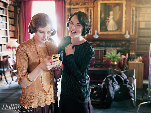 See Behind-the-Scenes Photos from the Upcoming Season of Downton Abbey